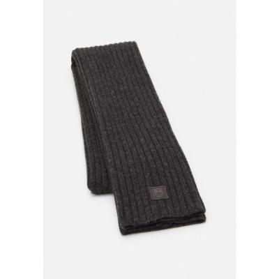 メンズ スカーフ JUNIPER SCARF UNISEX - Scarf - dark grey melange