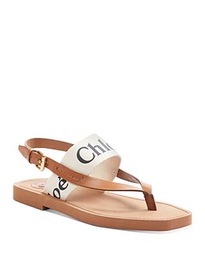 Chloe Women's Woody Flat Sandals