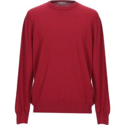 アンドレア フェンツィ ANDREA FENZI メンズ ニット・セーター トップス sweater Red