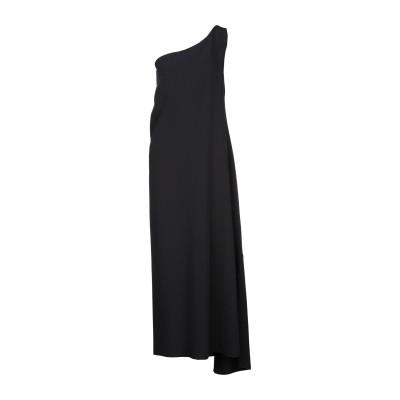 スーベニア SOUVENIR ロングワンピース&ドレス ブラック XS ポリエステル 95% / ポリウレタン 5% ロングワンピース&ドレス