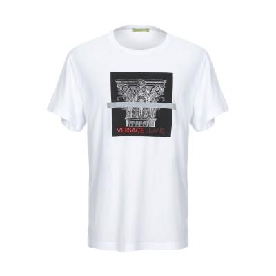 VERSACE JEANS T シャツ ホワイト XS コットン 100% T シャツ