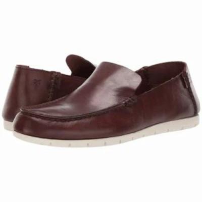 フライ ローファー Mesa Venetian Oxblood Dip-Dye Leather