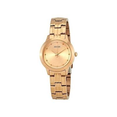 腕時計 ゲス GUESS W0989L3 GUESS Women's Year-Round Quartz Watch with Stainless Steel Strap, Rose Gold, 14