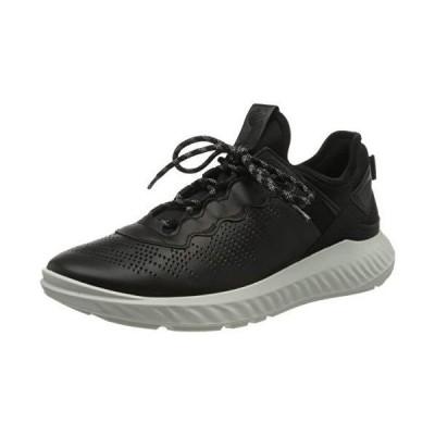 ECCO Men's ST.1 Lite Fashion Sneaker Black 40 (US Men's 6-6.5) M 並行輸入品