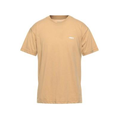 オベイ OBEY T シャツ サンド S ポリエステル 52% / コットン 48% T シャツ