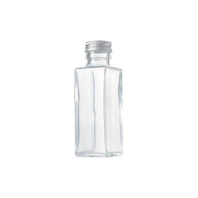 ハーバリウム瓶 スクエア114ml フタ付き