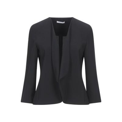 I BLUES テーラードジャケット ブラック 38 ポリエステル 100% テーラードジャケット