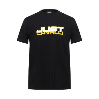 ジャストカヴァリ JUST CAVALLI T シャツ ブラック M コットン 100% T シャツ