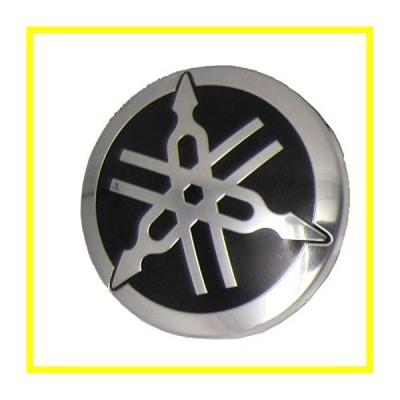 Yamaha ATV/PWC/UTV/Snowmobile Domed エンブレム Tuning Fork Logo F1K-U411H-00-00; F1KU411H0000