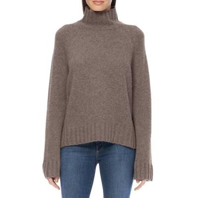 360カシミア レディース ニット&セーター アウター Leighton Mock Neck Sweater PORCUPINE