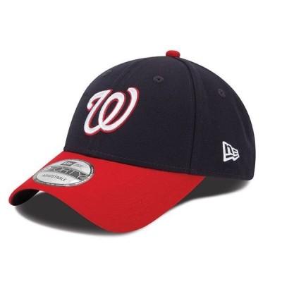 ニューエラ メンズ 帽子 アクセサリー Washington Nationals New Era Men's League 9Forty Adjustable Hat