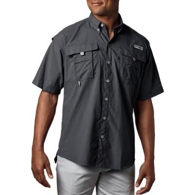 コロンビア シャツ トップス メンズ Columbia Men's PFG Bahama Button Down Shirt (Regular and Big & Tall) Black