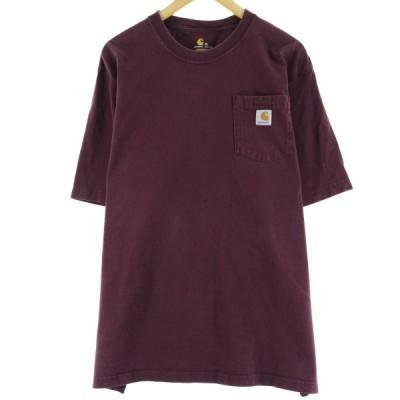 カーハート ワンポイントロゴポケットTシャツ XXL /eaa063094