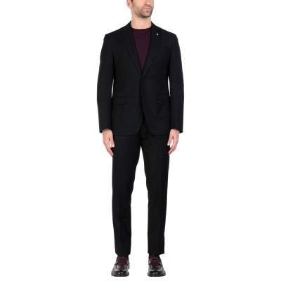 LIU •JO MAN スーツ ブラック 50 ポリエステル 70% / レーヨン 30% スーツ