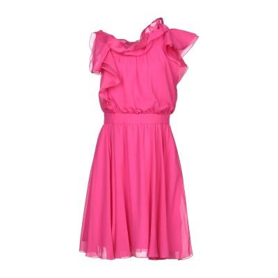 ジェニー GENNY ミニワンピース&ドレス フューシャ 38 ポリエステル 100% / シルク ミニワンピース&ドレス