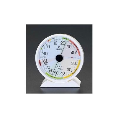 エスコ ESCO 132x121x50mm 温度・湿度計 EA728EB-42A