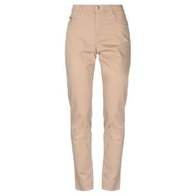 FUEGO WOMAN パンツ キャメル 40 コットン 97% / ポリウレタン 3% パンツ