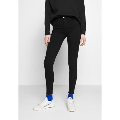 オンリー デニムパンツ レディース ボトムス ONLIDA MIDWAIST  - Jeans Skinny Fit - black denim