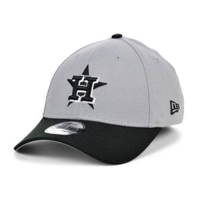ニューエラ メンズ 帽子 アクセサリー Men's Houston Astros Team Classic 39THIRTY Cap Gray/Black/White