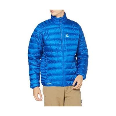 ホグロフス 軽量、撥水ダウン ロック ダウン ジャケット Roc Down Jacket Men メンズ Storm blue UK S (