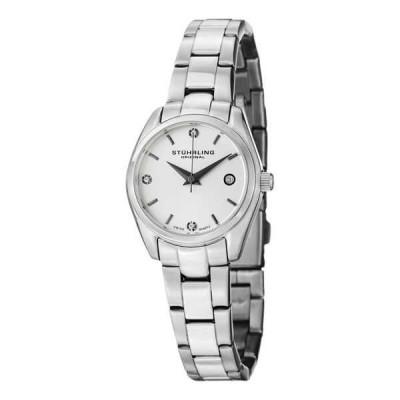 ストゥーリングオリジナル腕時計Stuhrling Original レディース 414L.01 クラシック Ascot Prime ホワイト ダイヤル クォーツ 腕時計