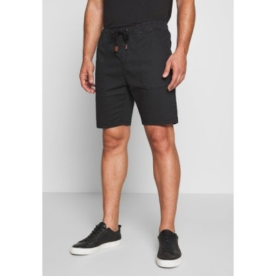 インディコーデ ジーンズ カジュアルパンツ メンズ ボトムス THISTED - Shorts - black