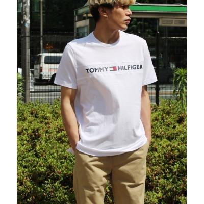 tシャツ Tシャツ 【TOMMY HILFGER】トミー ヒルフィガー ロゴプリントTシャツ メンズ半袖Tシャツ