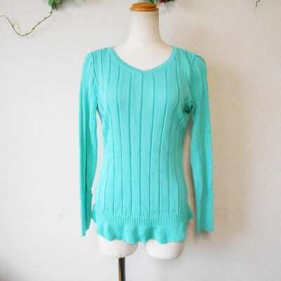 ミミア MIMIA レディース 用 長袖 セーター 日本製 F