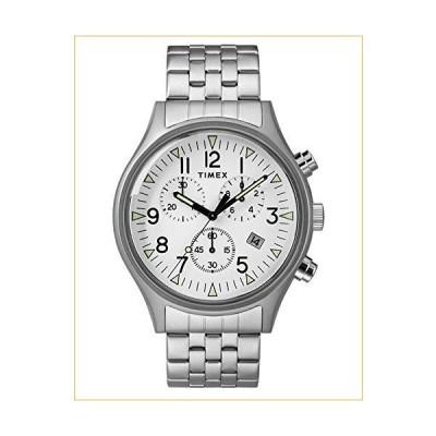 TIMEX Silver Stainless Steel Watch-TW2R68900 並行輸入品