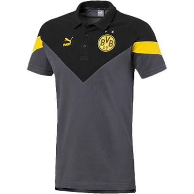 〇PUMA(プーマ) BVB ICONIC MCS ポロシャツ サッカー 756722-02