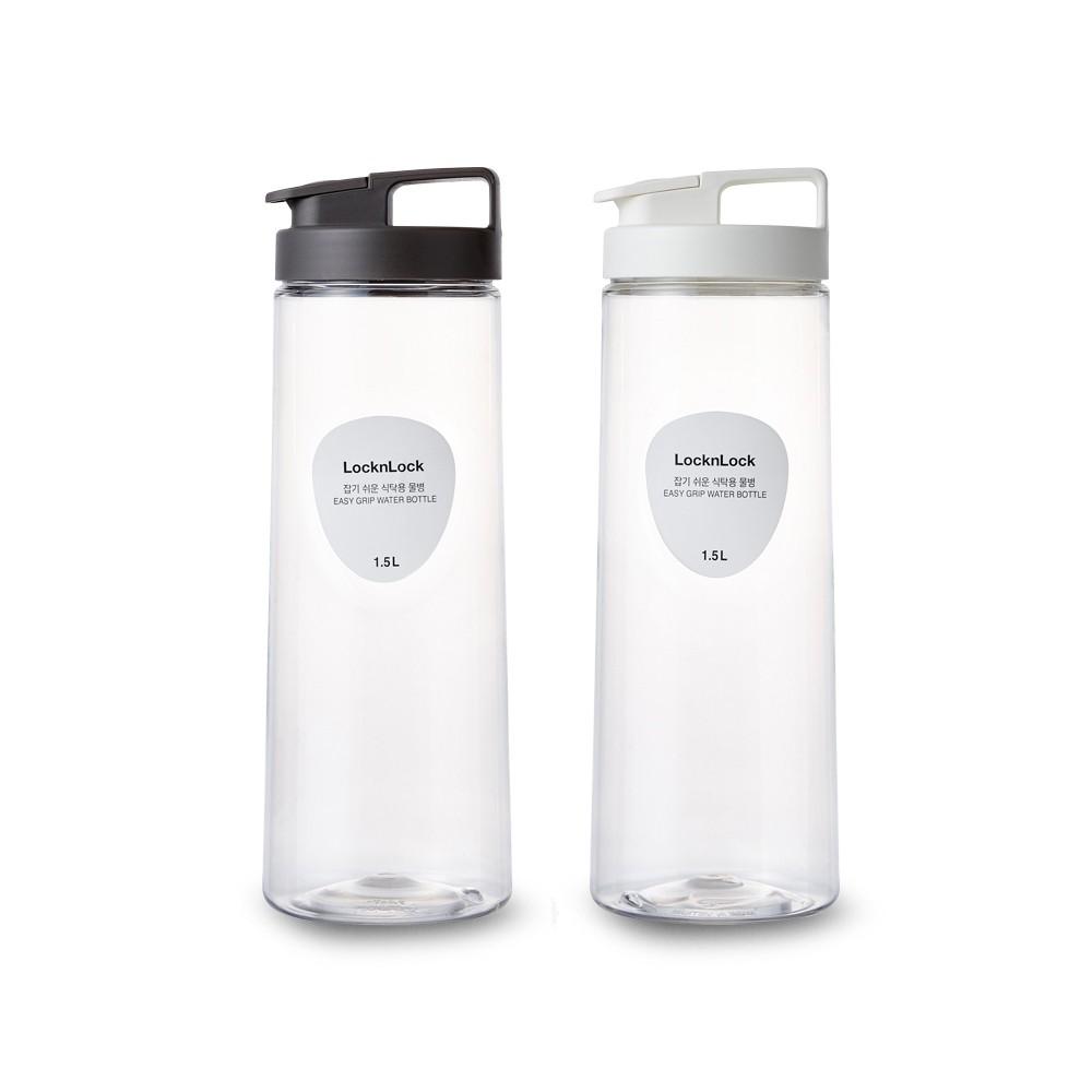 【樂扣樂扣】輕鬆手提PET冷水壺-1.5L(弧線設計、方便拿取)