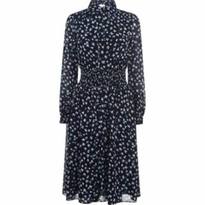マイケル コース MICHAEL Michael Kors レディース ワンピース ミドル丈 ワンピース・ドレス Midi Dress Blk/Blue