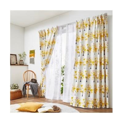 遮光カーテン(ハートの木)【Plune.】 ドレープカーテン(遮光あり・なし) Curtains, blackout curtains, thermal curtains, Drape(ニッセン、nissen)