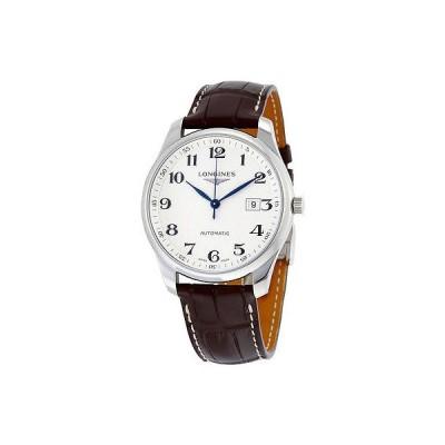 ロンジン 腕時計 Longines Master コレクション オートマチック シルバー ダイヤル メンズ 腕時計 L28934783