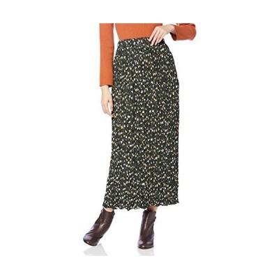 フリーズマート スカート アートプリントワッシャープリーツスカート レディース 131-9220078 グリーンベース 日本 FR (FRE