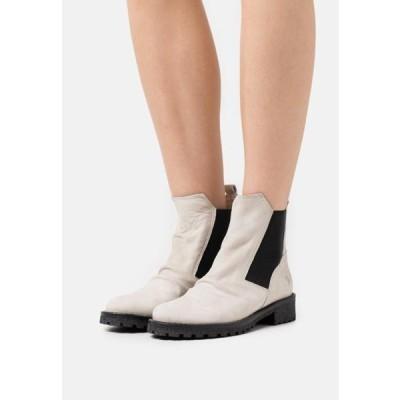 フェルミニ レディース 靴 シューズ CASTER - Classic ankle boots - pacifico/offwhite