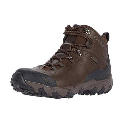 Oboz Bridger Premium Mid B-Dry Hiking Boot - Men's Saddle Brown 12並行輸入品
