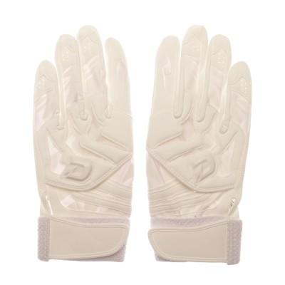 ウィルソン Wilson ユニセックス 野球 バッティング用手袋 ディマリニ バッティング手袋(両手用) WTABG0701 ホワイト WTABG0701S