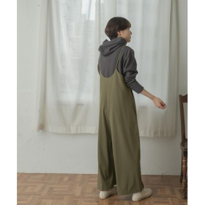 URBAN RESEARCH DOORS / FORK&SPOON キャミサロペットパンツ WOMEN オールインワン・サロペット > サロペット/オーバーオール