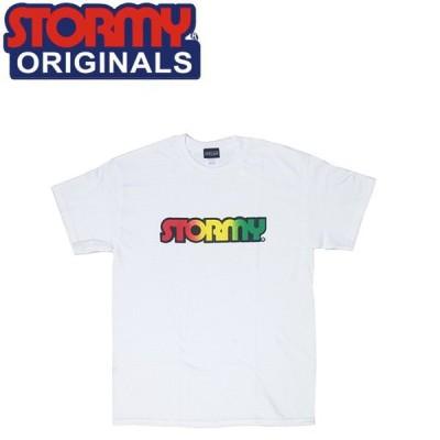 ストーミー STORMY 半袖 tシャツ LOGO SS T-SHIRTS WHITERASTA オリジナル ホワイトラスタ 20f