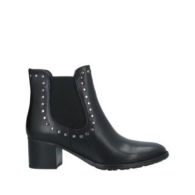 TWELVE SHOES DIVISION ショートブーツ ファッション  レディースファッション  レディースシューズ  ブーツ  その他ブーツ ブラック