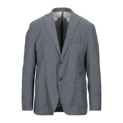 JERRY KEY テーラードジャケット ダークブルー 52 ポリエステル 87% / レーヨン 12% / ポリウレタン 1% テーラードジャケット