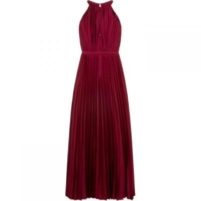 チチ Chi Chi レディース パーティードレス マキシ丈 ワンピース・ドレス Open Bow Back Detail Maxi Dress Burgundy