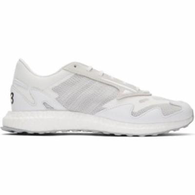 ワイスリー Y-3 レディース スニーカー シューズ・靴 White Rhisu Run Sneakers Supplier color