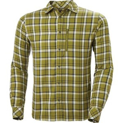 ヘリーハンセン メンズ シャツ トップス Helly Hansen Men's Lokka LS Shirt Fir Green Check