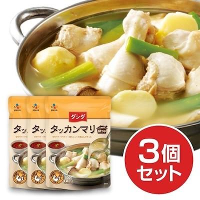 タッカンマリ鍋つゆ3個セット/ソウルのタッカンマリ専門店の味を再現