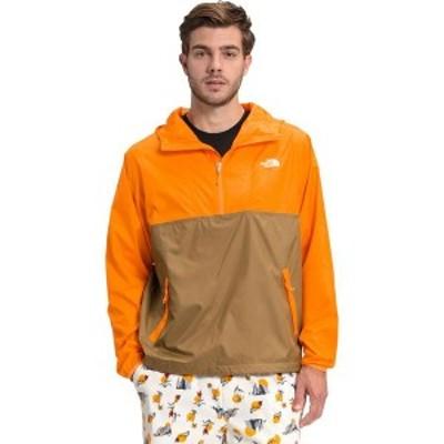ノースフェイス メンズ ジャケット・ブルゾン アウター Cyclone Anorak Utility Brown/Light Exuberance Orange