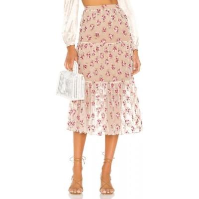 マジョレル MAJORELLE レディース ひざ丈スカート スカート Yosemite Midi Skirt Spring Multi