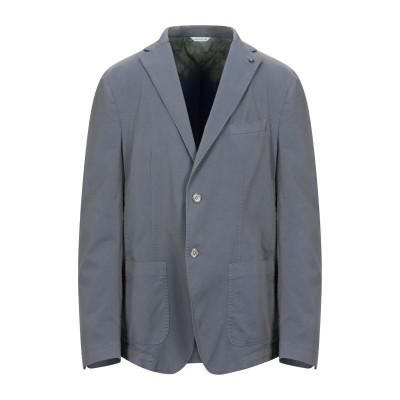 マニュエル リッツ MANUEL RITZ テーラードジャケット 鉛色 58 コットン 63% / ポリエステル 33% / ポリウレタン 4% テ
