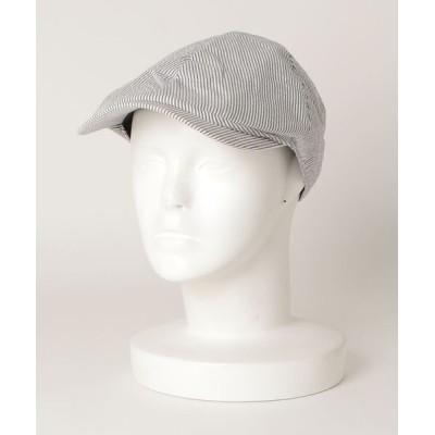 ZOZOUSED / ストライプ柄ハンチング MEN 帽子 > ハンチング/ベレー帽
